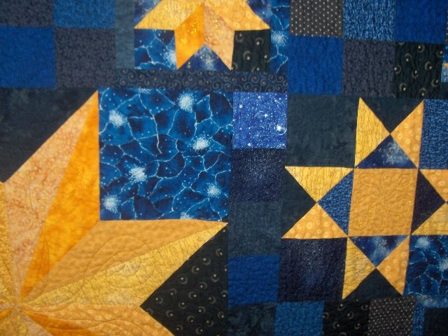 Sunshower Quilts Fair Entries # Sunshower Blue_021322