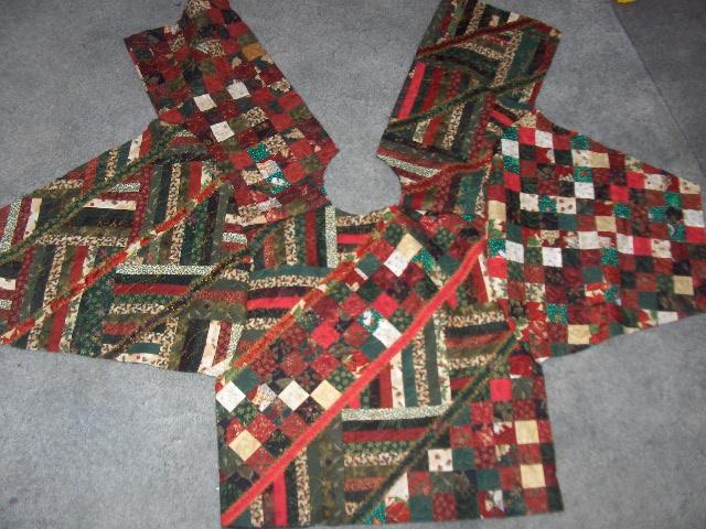 Sunshower Quilts: Constructing a Sweatshirt Jacket. : quilted sweatshirt jacket instructions - Adamdwight.com