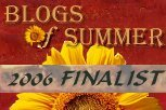 Blogs of Summer Finalist