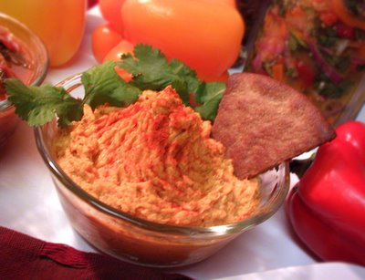 Fire Roasted Red Pepper & Garlic Hummus
