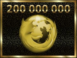 200.000.000 de descargas de Firefox