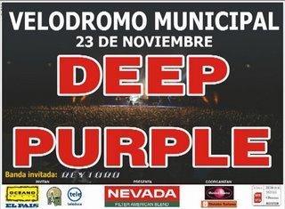 DEEP PURPLE en Uruguay