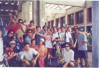 Punta del este 2001 con amigos de Buenos Aires