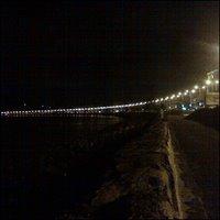Marine Drive, Mumbai, yöaikaan