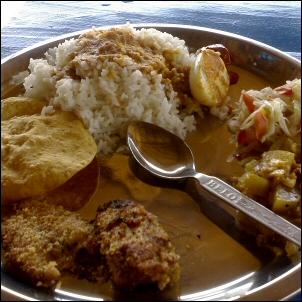 Tavanomainen goalainen lounas