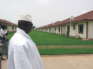 The President of the Republic of The Gambia Dr. Alh Yahya A.J.J. Jammeh
