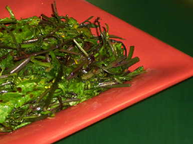 ... Easy Recipe for Sauteed Broccoli Rabe (Rapini) with Balsamic Vinegar