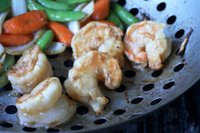 Recipe for Grilled Szechuan Shrimp and Vegetables