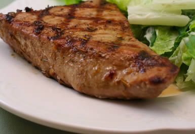 Kalyn's Kitchen®: Recipe for Grilled Spicy Tuna