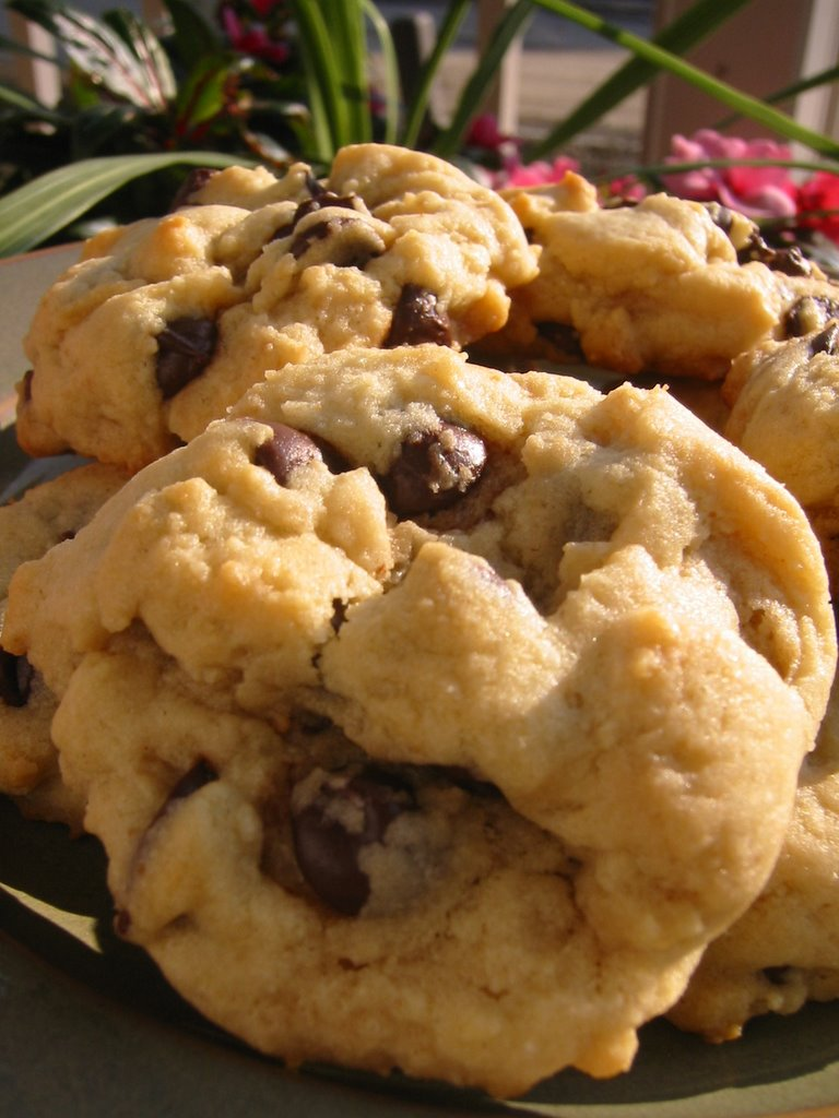 The Canadian Baker: Chewy Peanut Butter Chocolate Chip Cookies