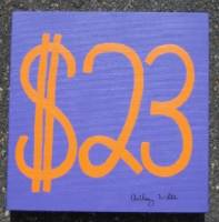 23 US dollars painting