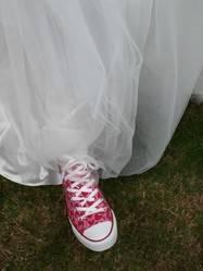 a bride shoe