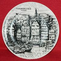 Farfurie portelan Hamburg