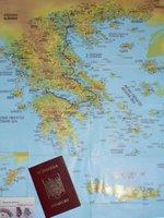 harta grecia si pasaport romanesc