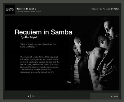 Requiem in Samba - by Alex Majoli