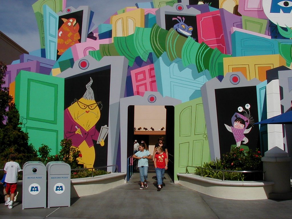 Image result for monsters inc mike and sulley to the rescue ride