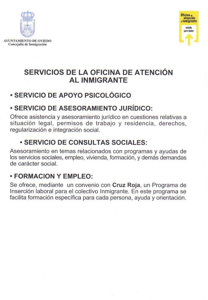 Inmigraci n una oportunidad el ayuntamiento de oviedo la for Oficina correos oviedo