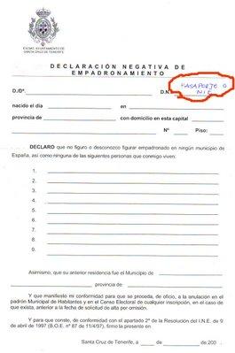 Inmigraci n una oportunidad como empadronarse en el ayuntamiento de santa cruz - Oficina de empadronamiento madrid ...