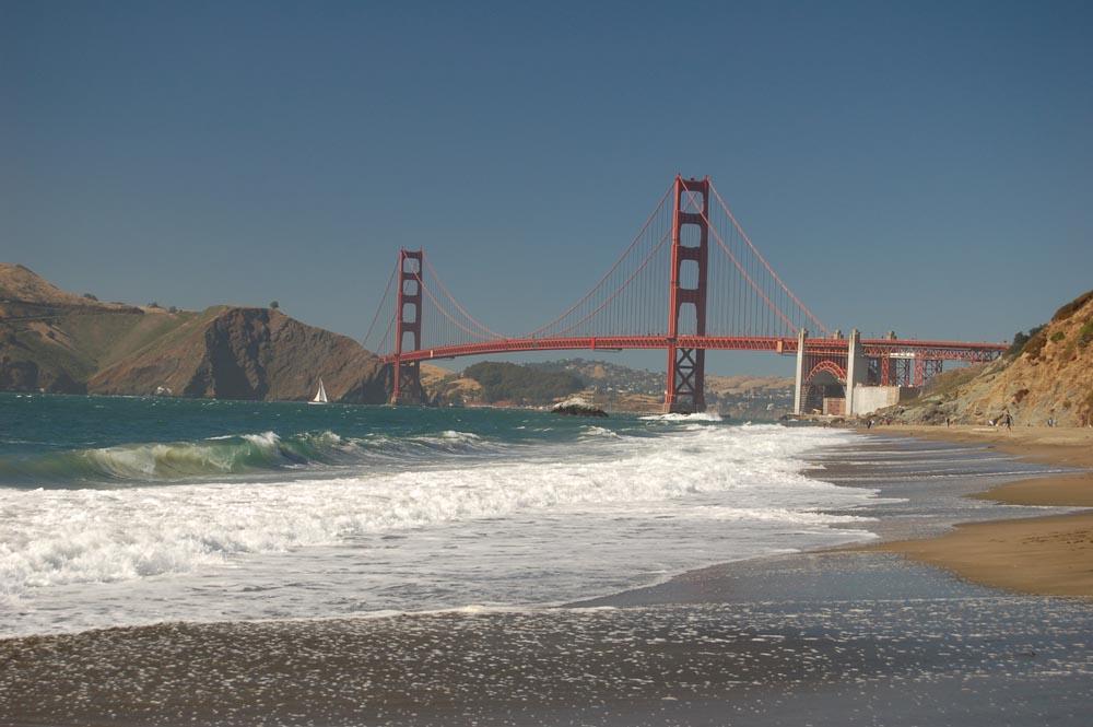 Only in san francisco baker beach - Residence belvedere vue pont golden gate ...