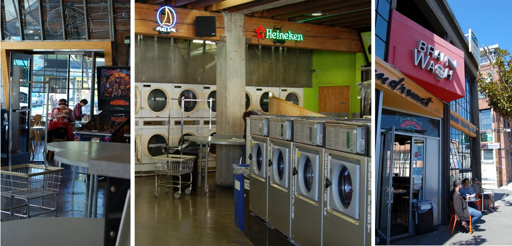 only in san francisco ici on ne lave pas linge sale