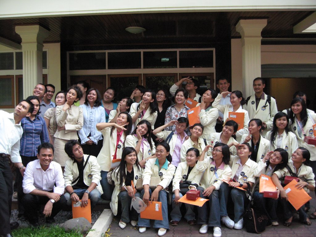 Maverick indonesia atmajaya yogyakarta students 39 visit for Terrace yogyakarta