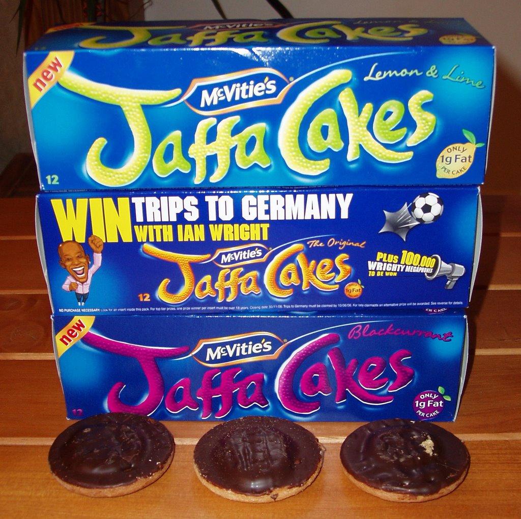 Lemon Jaffa Cakes