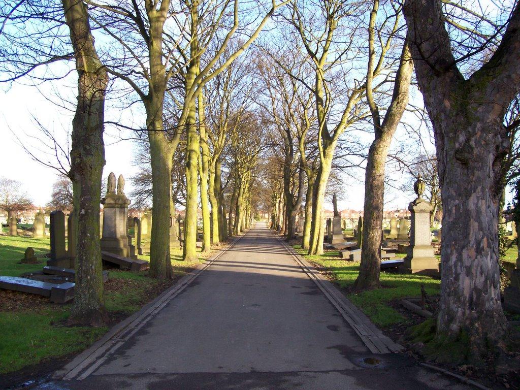 Photographs Of Newcastle: Byker/Heaton Cemetery