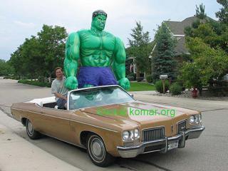 Hulk Car