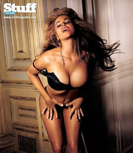 naked carmen electra in playboy