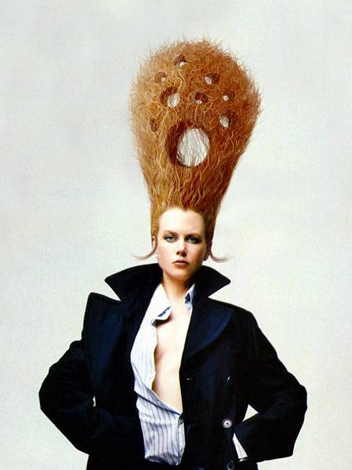 Funny and Stupid Ideas: Hairstyles Crazy Version