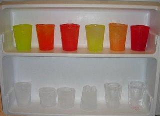vasos de hielo vasos en el congelador en que a o viv