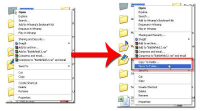 Main%20Picture How to Add A Copy To and Move To Command to Your Windows XP Context Menu