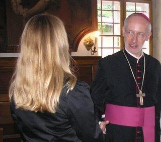 little cousin and Bishop (onemorehandbag)