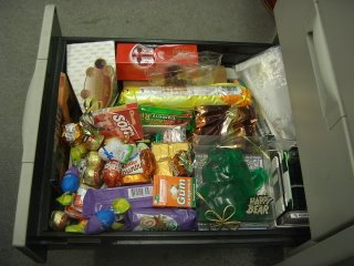 chocolate drawer pending explosion (onemorehandbag)