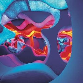 "Verner Panton, ""Phantasy Landscape Visiona II"", 1970, Detail Installation (source: http://www.kunsthalle.at)"