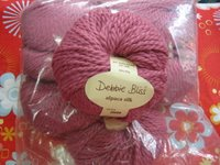 Raspberry Alpaca Silk