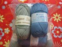 Sirdar Cotton in Denim and Cotton Cashmere