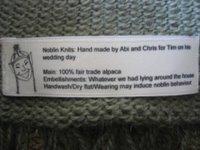 Customised Label
