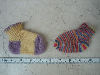 Small noblin socks
