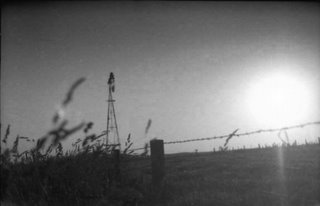 Iowa windmill picture, 1970