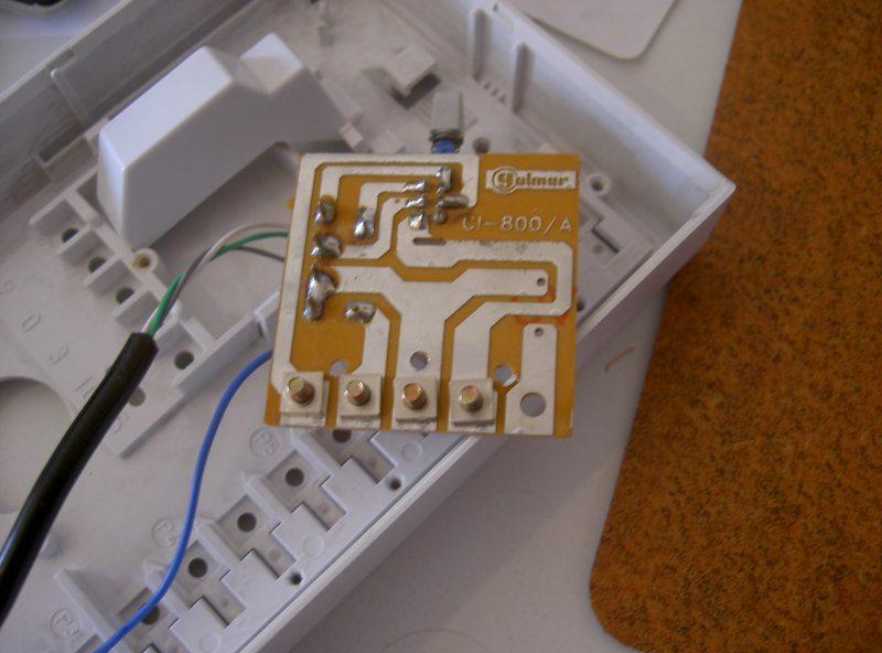 Herremental diy mi tel fono voip for Cables telefonillo colores
