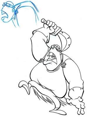 Genghis Khan Cartoon