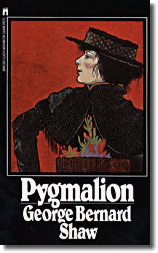 pygmalion george shaw essay Pygmalion pygmalion essay what does the play show us of society at the time pygmalion was written in 1912 by george bernard shaw  he saysndeserving poverty is my line  a slave now, for all my fine clothes henry higgins is a contrast.