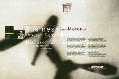 Headline Business ist der Motor