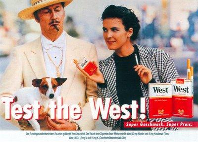 Test the West! Anzeige und Plakat Huendchen