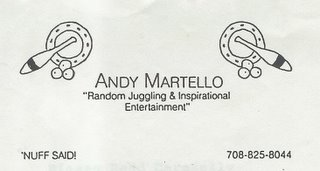 Andy Martello: Corporate Speaker!