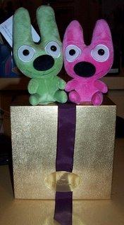 I love surprise presents!