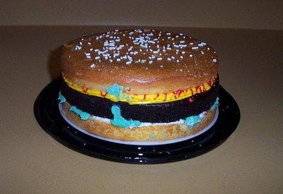 MMMmmm...Hamburger Cake!