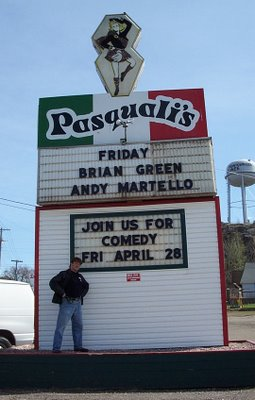 Andy Martello at Pasquali's