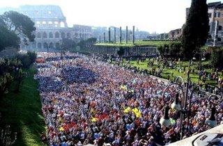 Maratona di Roma, 26 marzo 2006 - Foto da Repubblica.it